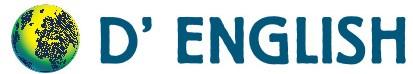 dEnglish bw logo